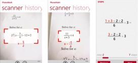 """تطبيق """" PhotoMath """" لحل مسائل الرياضيات بالكاميرا"""