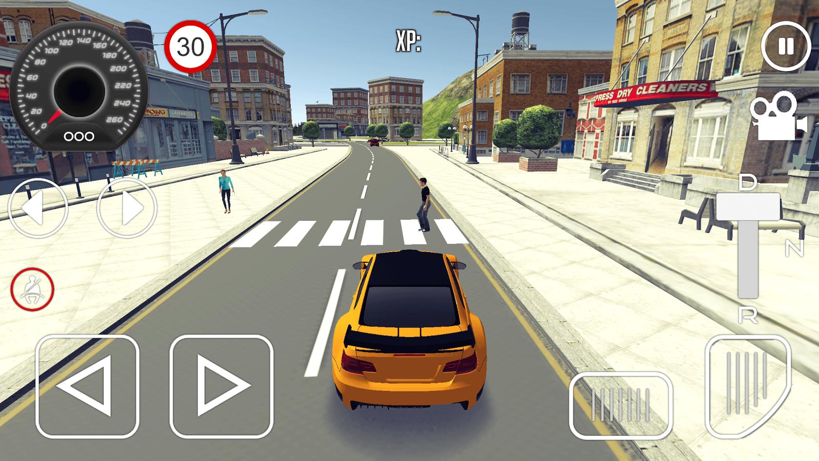 تطبيق Driving School 3d لتعليم قيادة السيارات زووم على التقنية