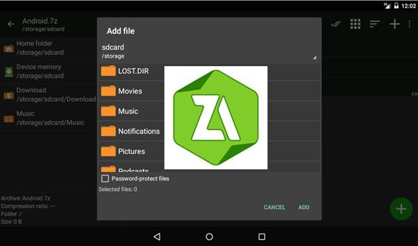 إليك ZArchiver أفضل تطبيق لإنشاء وفك ضغط الملفات - زووم على